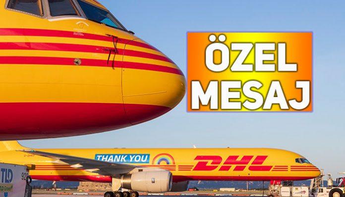 DHL'den lojistik ve sağlık çalışanlarına teşekkür