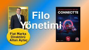 """Filo yönetimi Fiat yol arkadaşım """"Connect Filom"""" ile kolaylaşıyor!"""