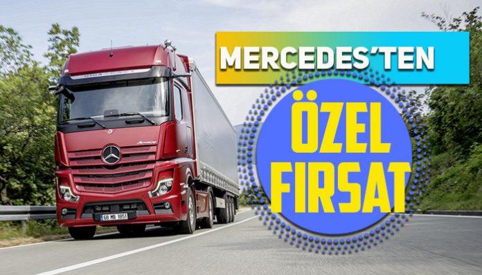 Çekici, inşaat ve kargo kamyonlarında özel kampanya