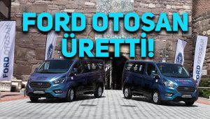 Ford'un Şarj edilebilir hibrit elektrikli ticari araçları Ankara halkının hizmetinde!