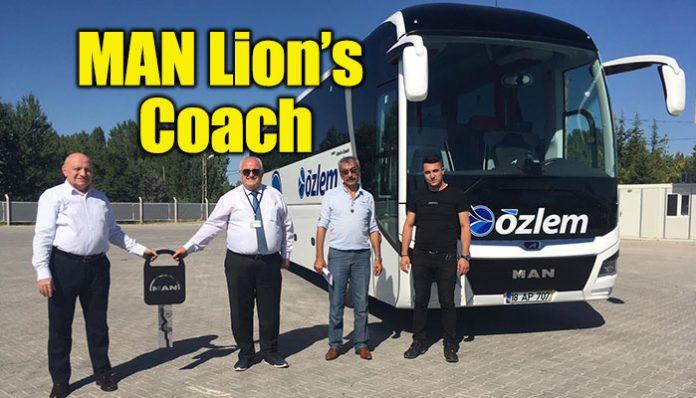 ÖZLEM Seyahat, filosunu MAN Lion's Coach ile güçlendirdi
