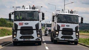 Ford Trucks kamyonlar Romanya'da