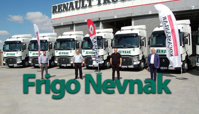 Frigo Nevnak, filosunu yine Renault Trucks çekiciler ile güçlendirdi