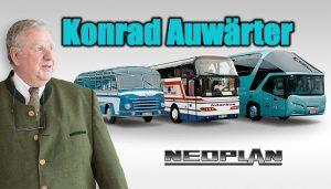 NEOPLAN Skyliner'ın yaratıcısı Konrad Auwärter 80 yaşında