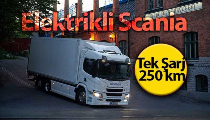 Scania, elektrikli kamyon serisini pazara sundu!