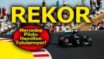 F1'de Mercedes pilotu Hamilton, 92. zaferi ile Dünya Rekoru kırdı!