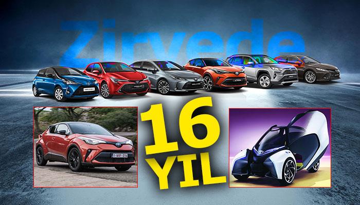 Dünyanın En Değerli Otomotiv Markası Toyota, zirveyi bırakmıyor!