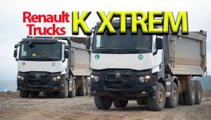 Nomad Lojistik'e ağır tonajlı taşıma için Renault Trucks K XTREM