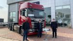 Scania kırkayak kamyon