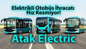 Karsan Atak Electric otobüsleri