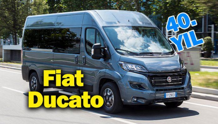 Fiat Ducato Avrupa'nın En Çok Satan Ticari Aracı