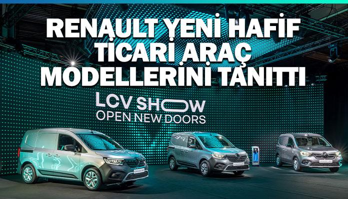 Renault, hafif ticari araç ürün gamının yüzde 75'ini yeniledi