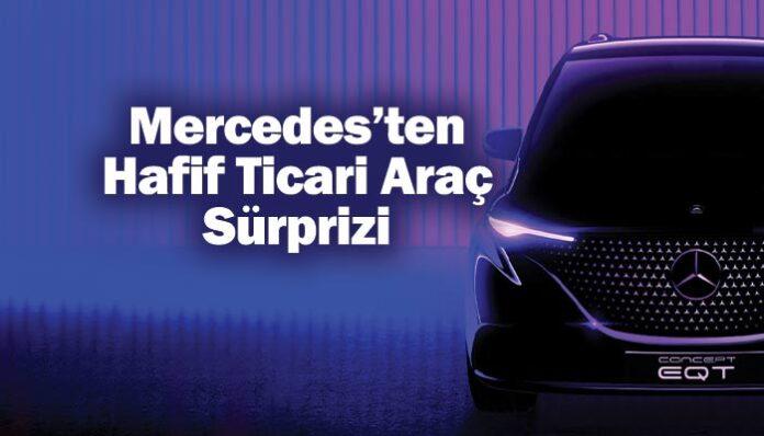 Mercedes-Benz, Concept EQT ile hafif ticari araçta sürpriz yapacak
