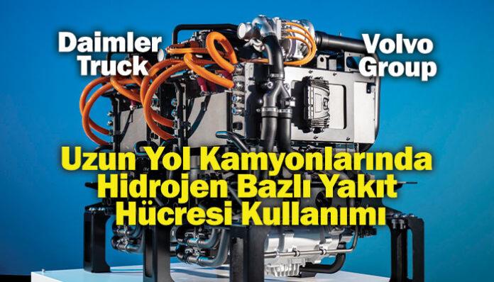Daimler Truck ve Volvo Group'tan güç birliği!