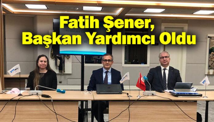 UND'nın önemli ismi Fatih Şener, BSEC-URTA Başkan Yardımcısı oldu