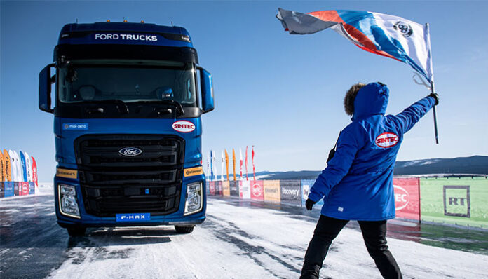 Ford Trucks, F-MAX ile Rusya'da bir ilke daha imza attı!