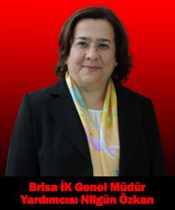 Brisa İnsan Kaynakları Genel Müdür Yardımcısı Nilgün Özkan
