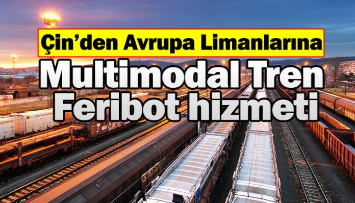 Ceva Logistics, Çin'den Avrupa'ya blok tren hizmetini genişletiyor!