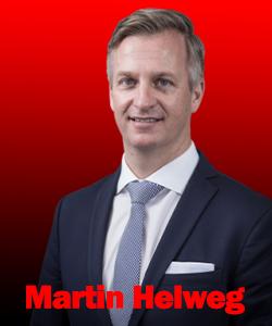 P&O Maritime Logistics CEO'su Martin Helweg