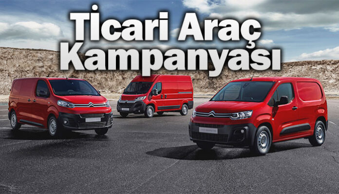 Citroen'den ticari araç kampanyası