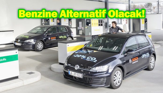 Bosch, Shell ve Volkswagen Blue Gasoline isimli yeni yakıt geliştirdi