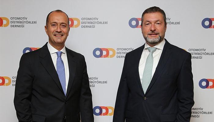 ODD Genel Koordinatörü Dr. Hayri Erce – Otomotiv Distribütörleri Derneği Yönetim Kurulu Başkanı Ali Bilaloğlu