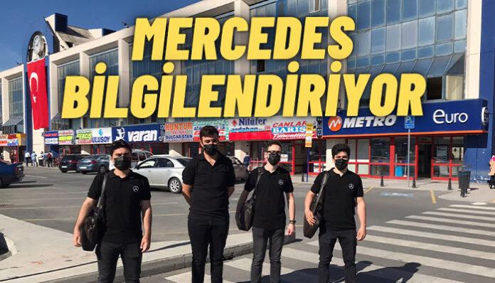 Mercedes-Benz Türk'ten, İstanbul ve Ankara otogarlarında özel aktivite