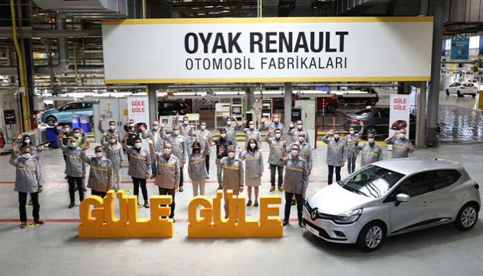 Oyak Renault Bursa Fabrikası'nda bir dönem sona erdi!