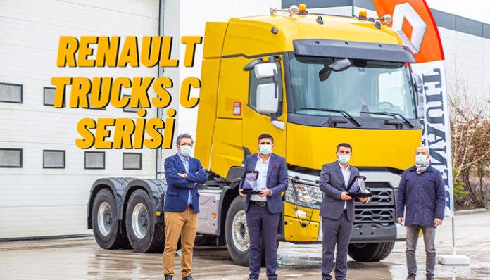 Işıklar Ağır Nakliyat'ın tercihi Renault Trucks C serisi