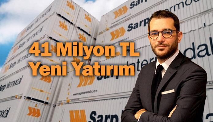 Sarp Intermodal, konteyner sayısını 1550'e çıkarıyor!