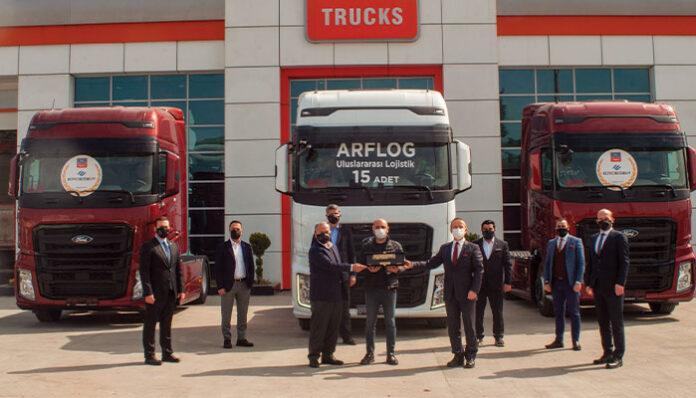 Ford Trucks'tan ARF Lojistik'e 15 adet Ödüllü F-MAX testlimatı