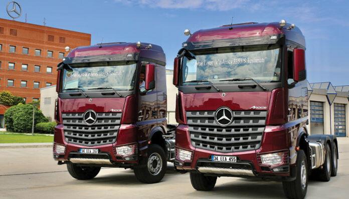 Aytaş Lojistik, 2 adet Mercedes-Benz Arocs 3353 S siparişini teslim aldı
