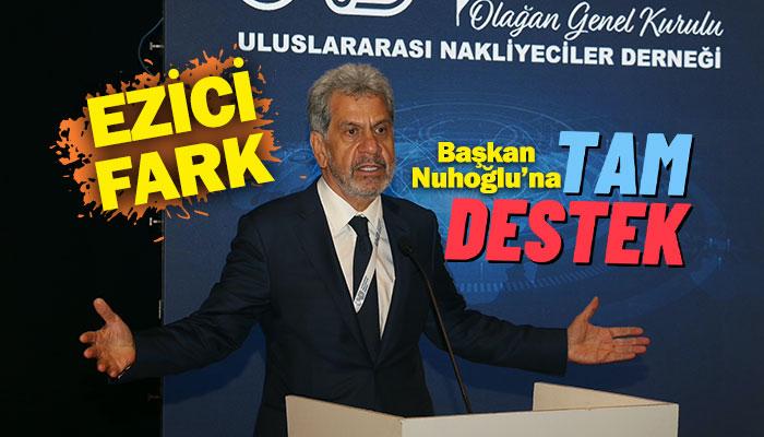 Çetin Nuhoğlu tekrar başkan seçildi