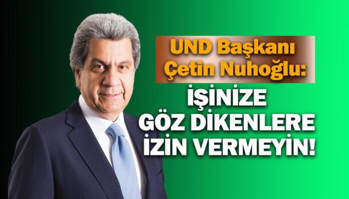 UND Başkanı Çetin Nuhoğlu, Konyada nakliyecilere seslendi