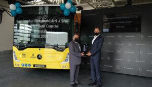 Yeni İstanbul Halk Otobüsleri A.Ş.'ye Conecto Solo teslimatı