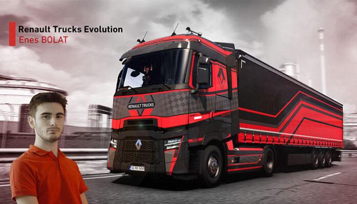 Türk genci, Renault Trucks'ın yarışmasında birinci oldu!