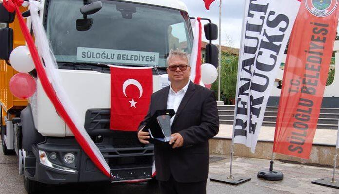 Süloğlu Belediyesi'ne Renault Trucks D-MED hibe edildi