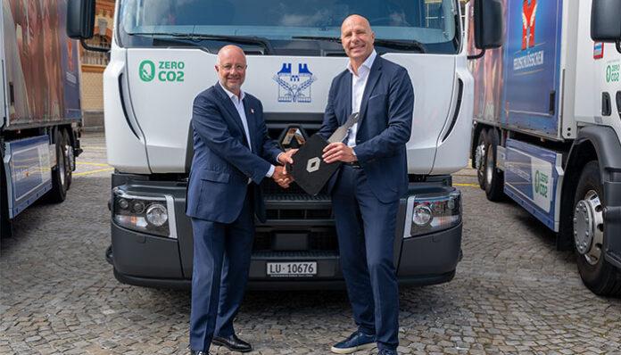 Renault Trucks'tan 20 adet elektrikli kamyon teslimatı