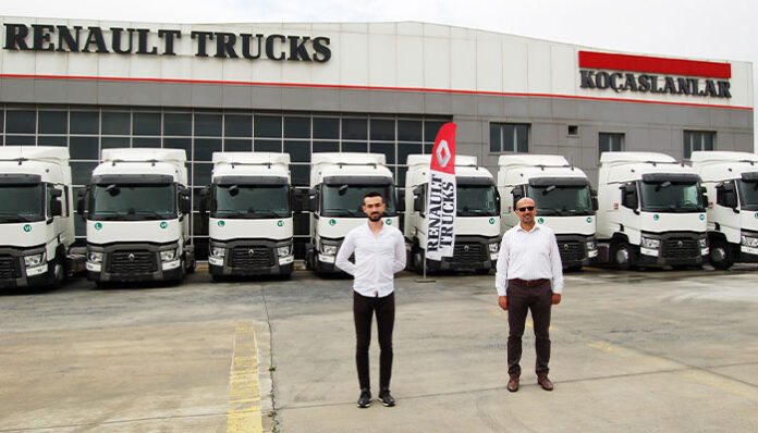 ECS Uluslararası Nakliyat, filosuna 10 adet Renault Trucks T serisi çekici kattı