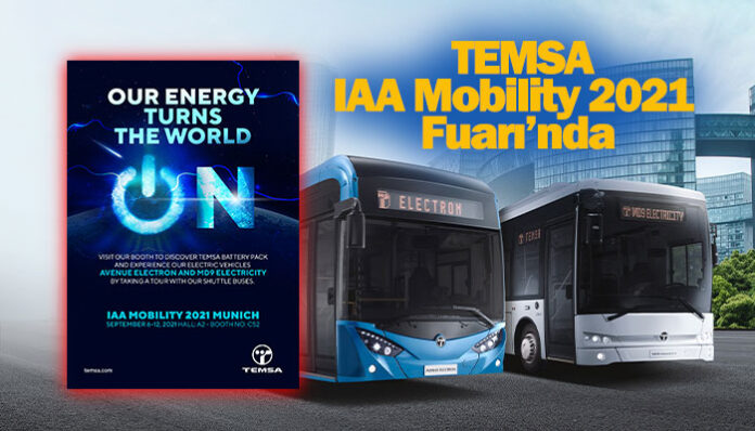 TEMSA, 2 elektrikli otobüs modeliyle IAA 2021'de yerini alacak