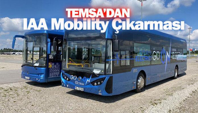 TEMSA'dan IAA Mobility 2021 Fuarı'nda gövde gösterisi
