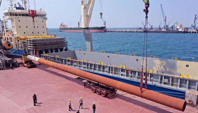 Afrika'nın taşımacılık üssü Nador Port'un çelikleri Tosyalı Holding'ten