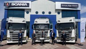 Ali Çavuşoğulları Lojistik'ten 40 adet Scania R500 yatırımı