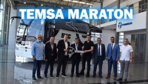 TEMSA'dan Seç Turizm'e 4 adet 2+1 Maraton teslimatı